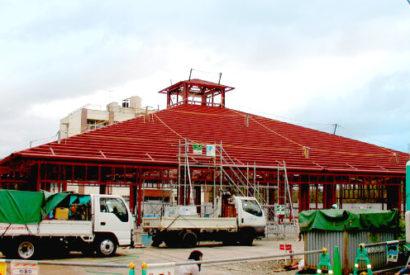 某学園給食棟新築工事